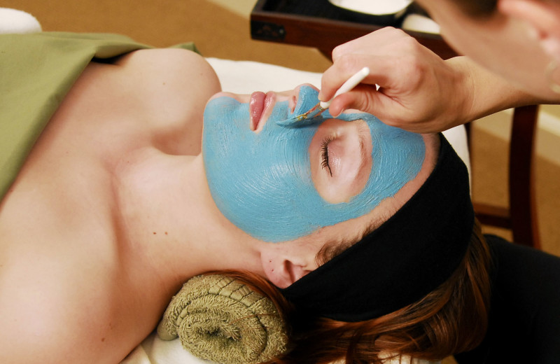 Facial at West Sonoma Inn and Spa.