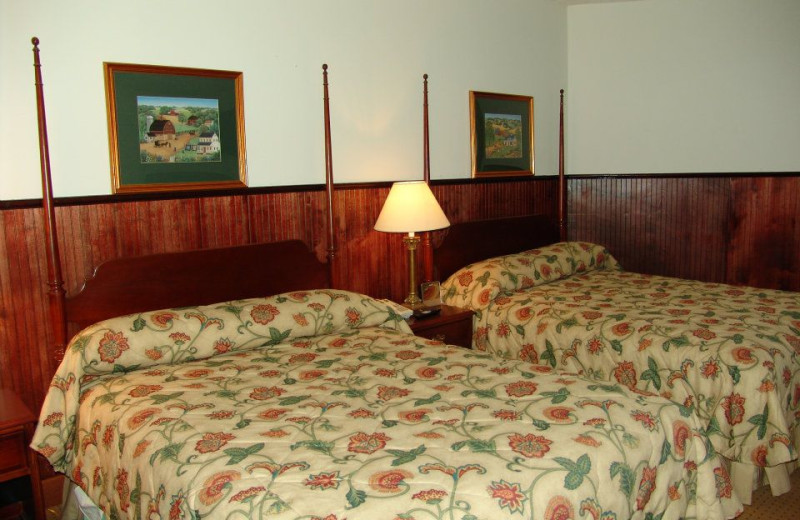 Guest bedroom at Hanah Mountain Resort & Country Club.