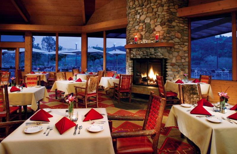 Dining at Alisal Guest Ranch and Resort.