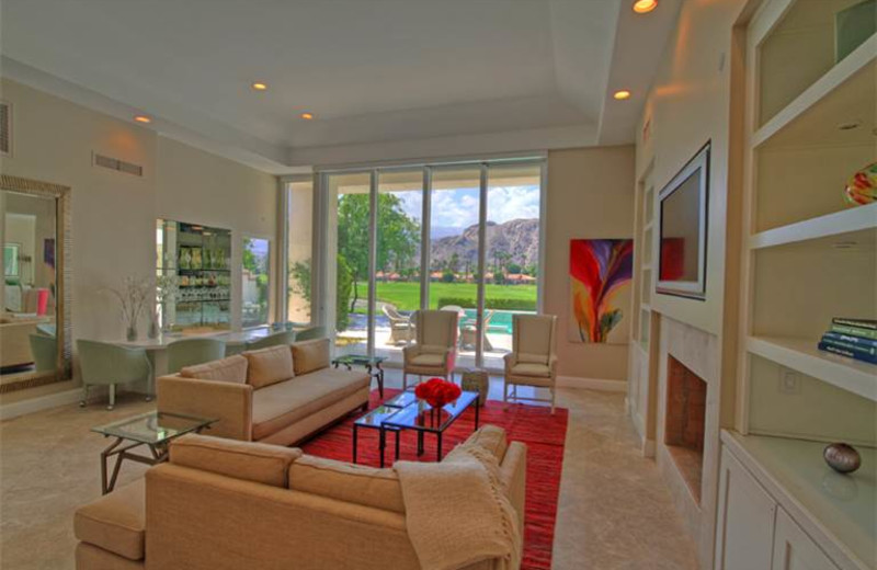 Rental living room at Luxury Leasing.