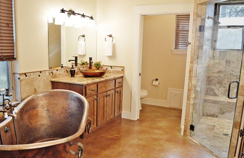 Bathroom at Elk Lodge Vacation Home.