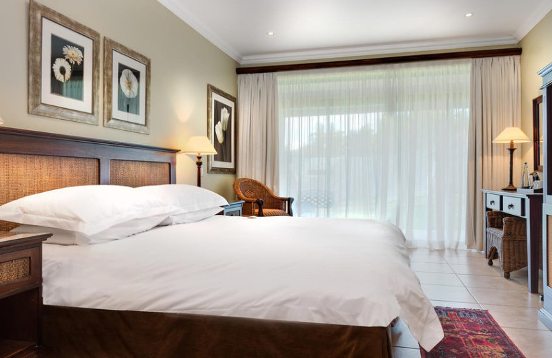 Guest room at Hunter's Rest Conference and Holiday Resort.