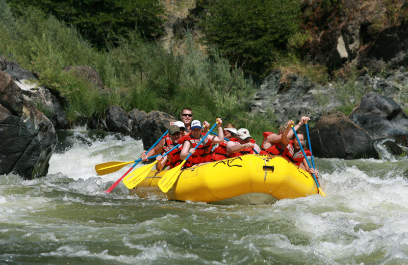 Rafting at Marble Mountain Guest Ranch.