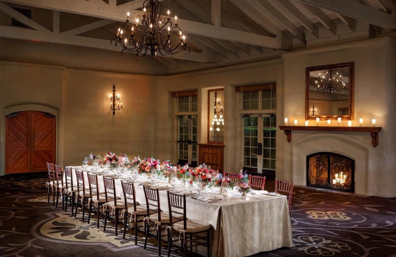 Wedding at he Fairmont Sonoma Mission Inn & Spa.