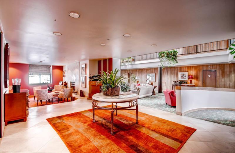 Lobby at Centennial Lodge of Beaver Creek.