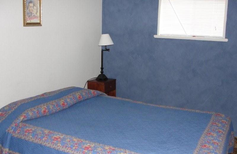 Guest room at Elk City Hotel.