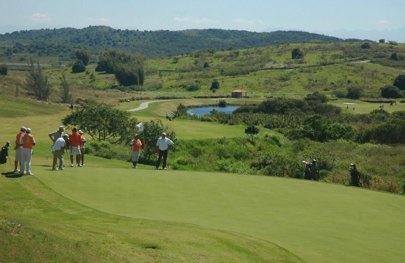 Golf course at Búzios Golf Club & Resort.