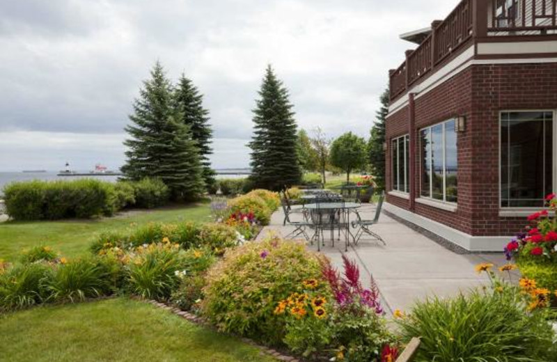 Garden at Hampton Inn Duluth.