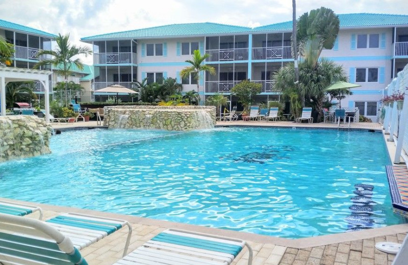 Outdoor pool at 7 Mile Beach Resort and Club.