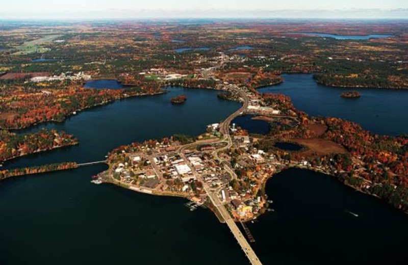 Aerial view of location at Redman Rental Group.