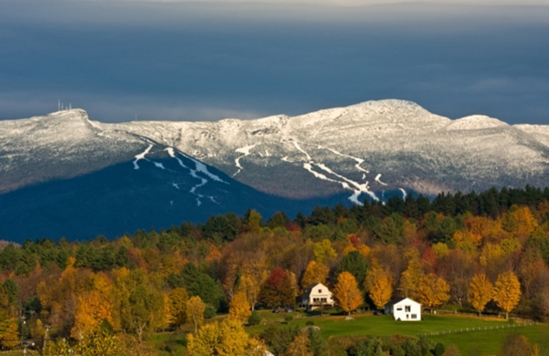 Beautiful views of Stowe, Vermont at Topnotch Resort.
