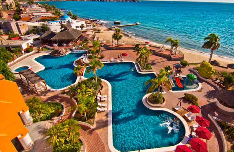 Outdoor pool at San Carlos Plaza Hotel, Resort & Convention Center.