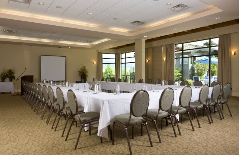 Meeting room at Summerland Waterfront Resort.
