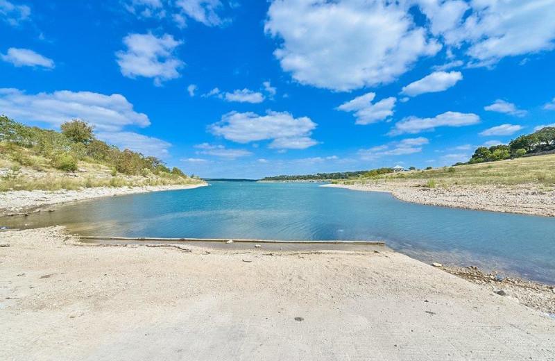Lake view at Vacation New Braunfels.