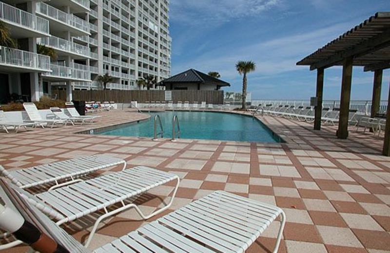 Pool View at Meyer Vacation Rentals