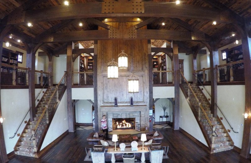Lobby at Morrell Ranch.