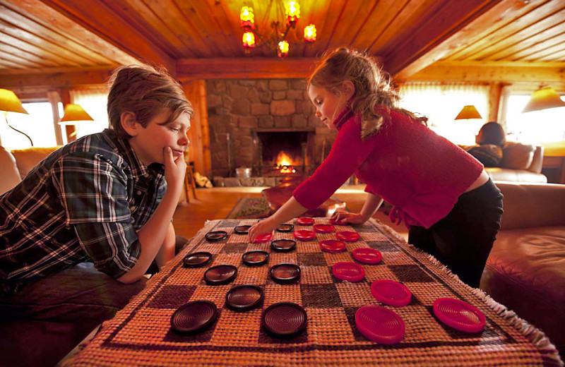 Games at Lutsen Resort on Lake Superior.