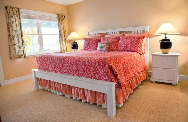 Guest room at Edgewater Resort.