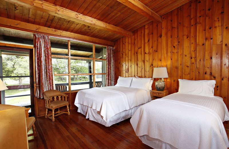 Guest room at Killarney Mountain Lodge.