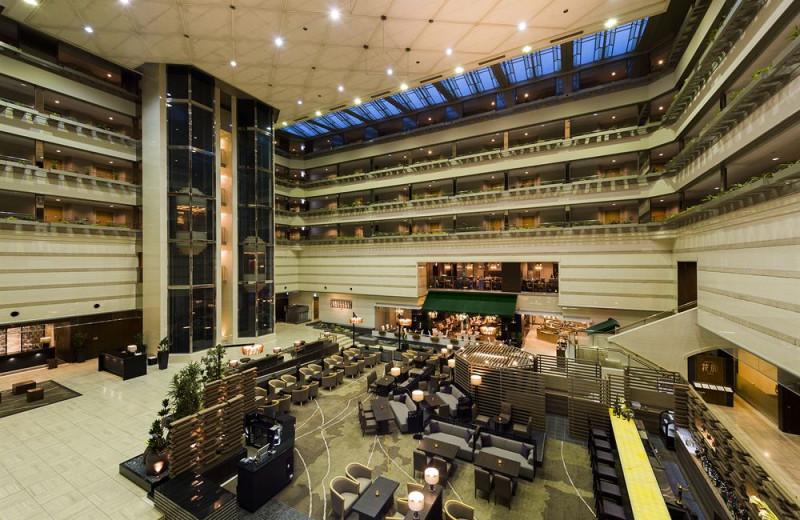Lobby at Kyoto Brighton Hotel.