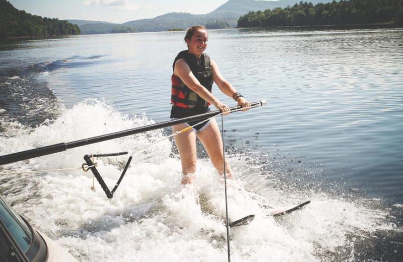 Water skiing at Timberlock.