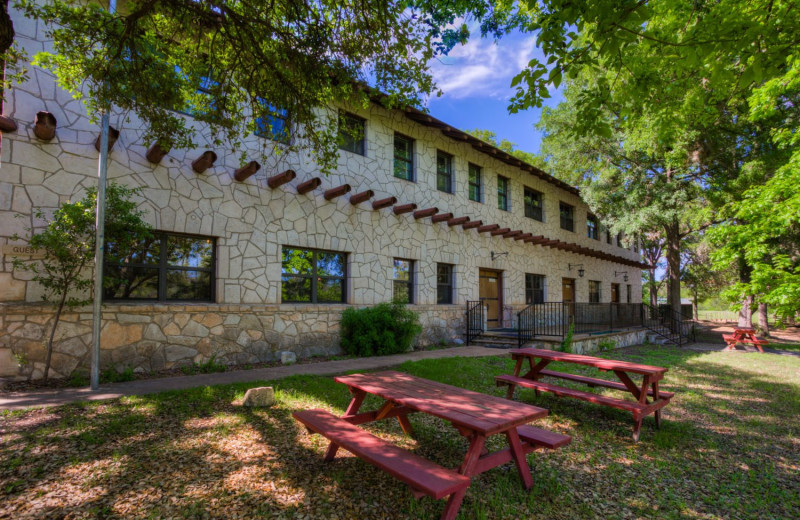 Exterior at Mo-Ranch.
