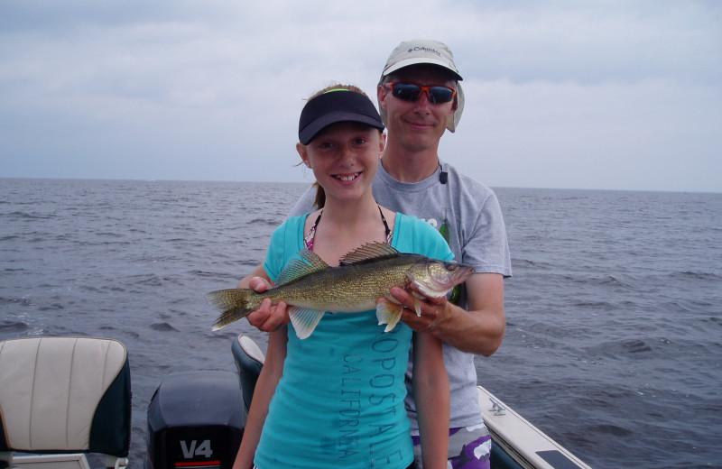 Fishing at Lakeroad Lodge.