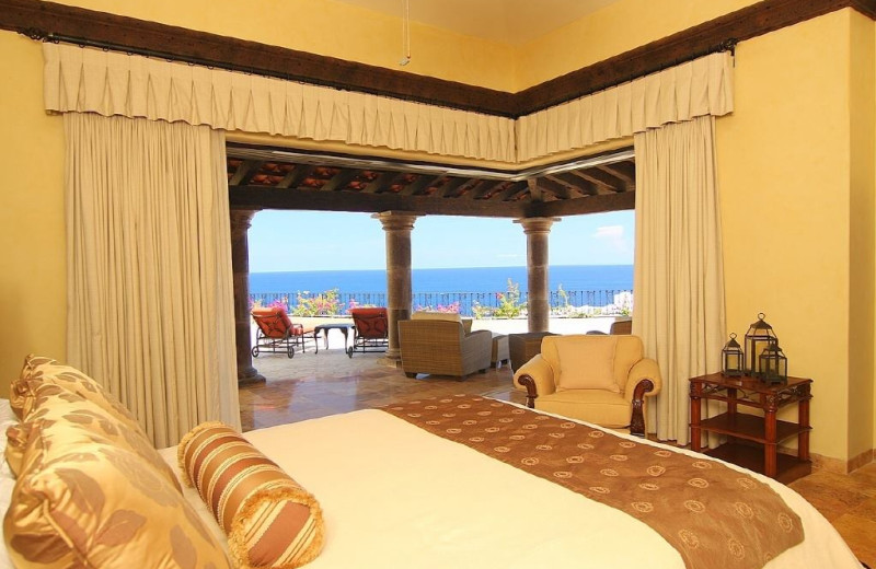 Rental bedroom at Sun Cabo Vacations.