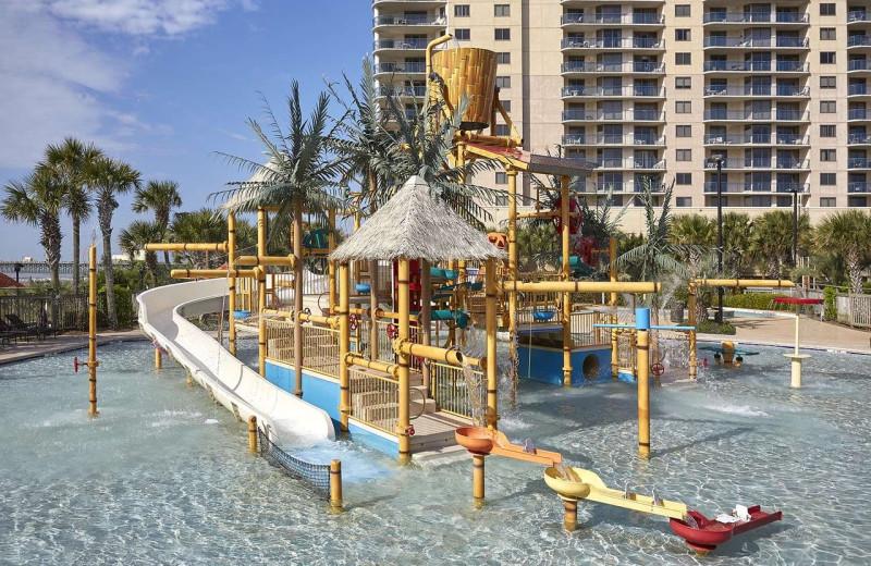 Water park at Hilton Myrtle Beach Resort.