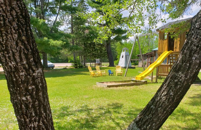 Playground at Sejour Kouchibouguac Resort.