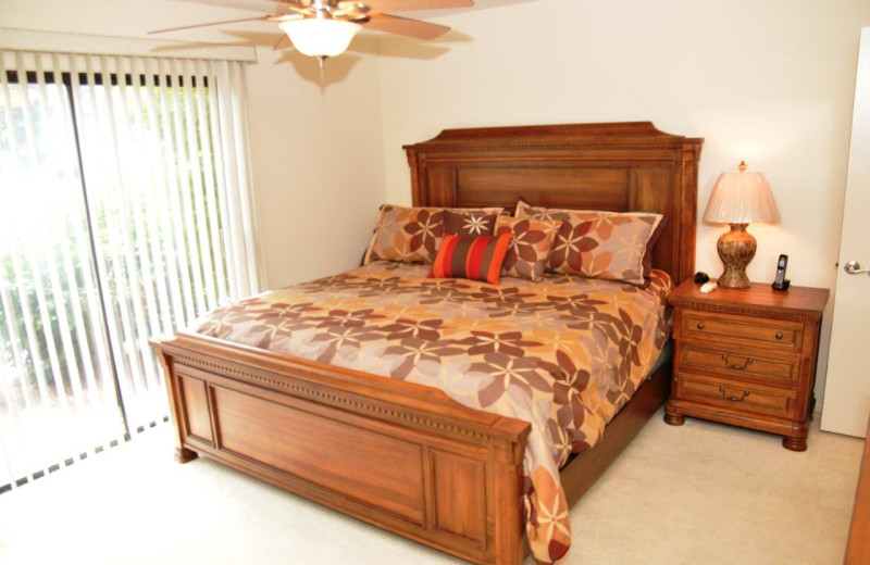 Rental bedroom at Padzu Vacation Homes - Palm Springs