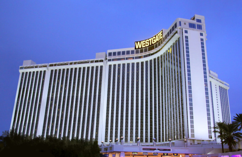 Exterior view of Westgate Las Vegas Resort & Casino.