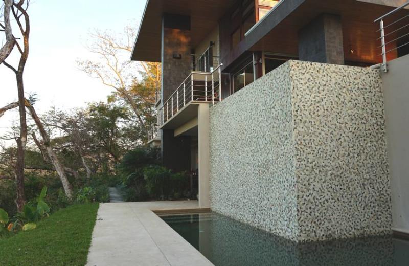 Exterior view of Casa Rio Nosara.