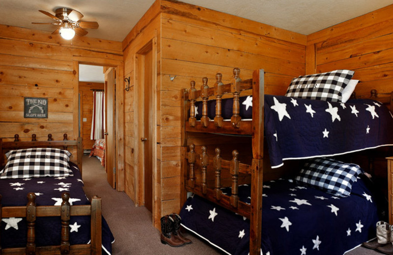 Guest room at Colorado Trails Ranch.