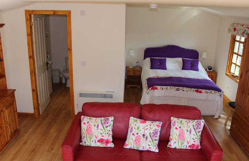Guest room at Mackeanston House.