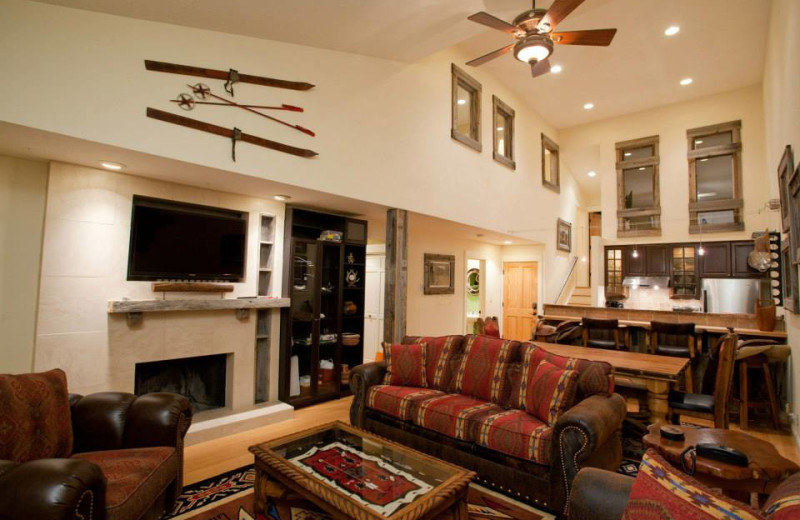 Rental interior at Rendezvous Mountain Rentals & Management.