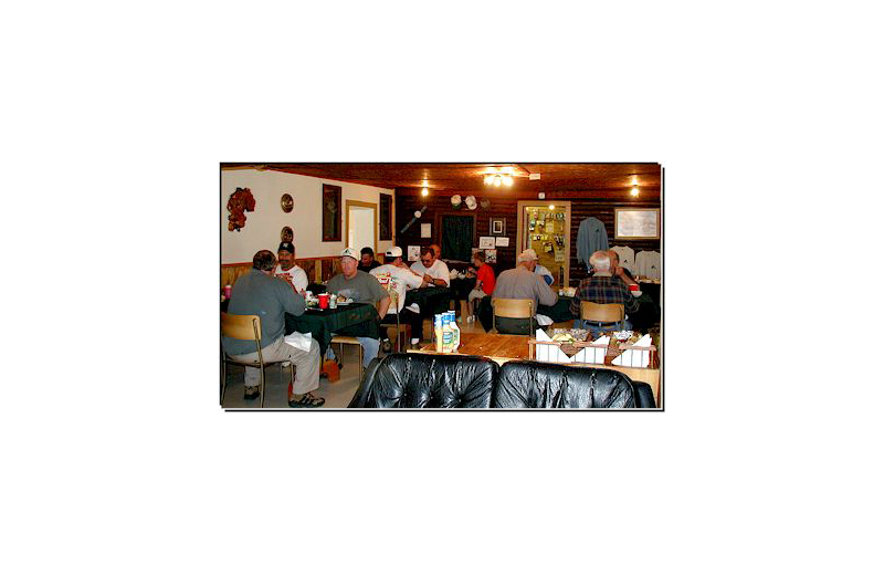 Dining at Pine Point Lodge & Outposts.