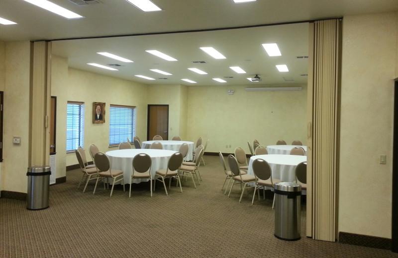 Meeting area at nn on Barons Creek.