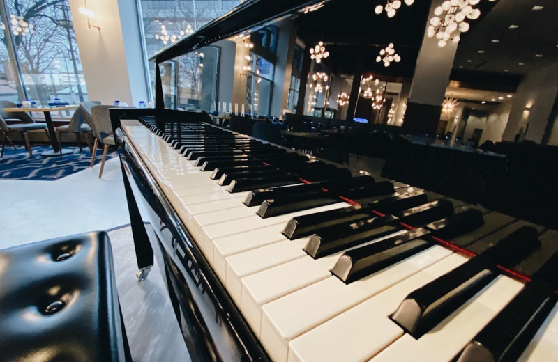 Piano at Blu-tique Hotel.