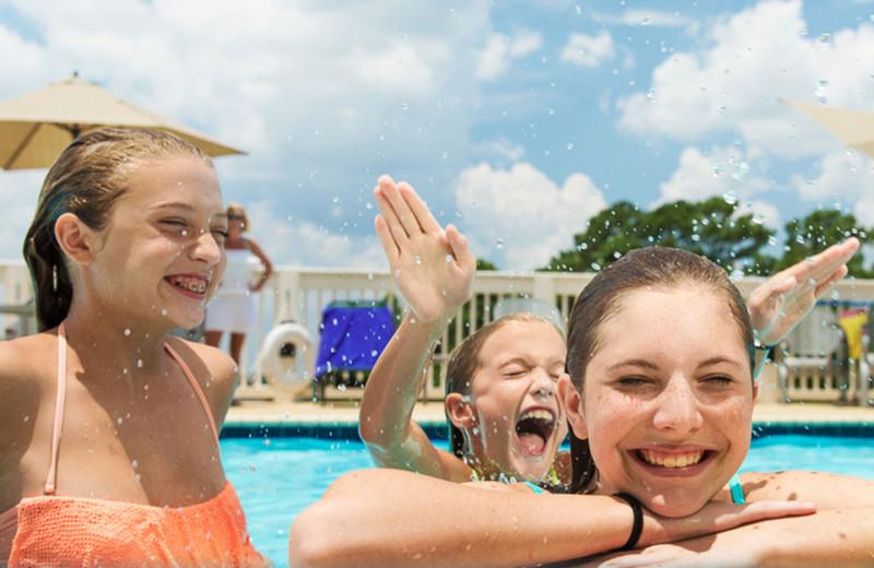 Pool at Lake Blackshear Resort & Golf Club.
