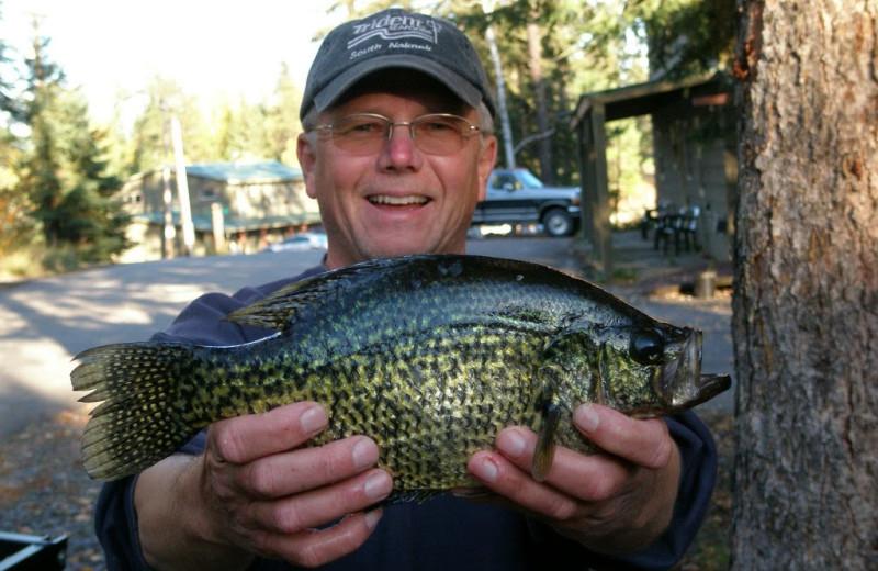 Fishing at Norway Lodge.