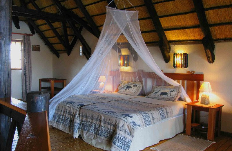 Guest room at Lake Oanob Resort.