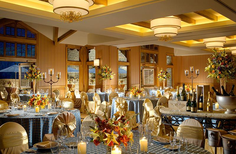 Wedding reception at The Lodge At Vail.