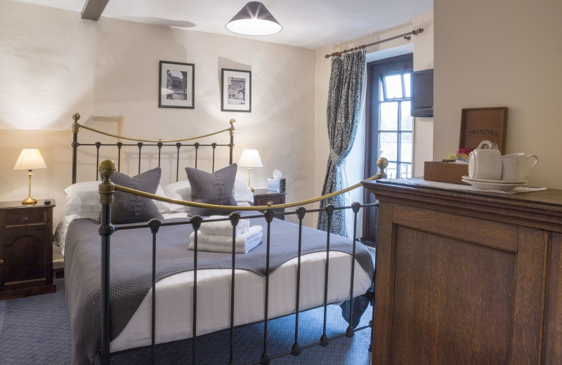 Guest room at Cavendish Arms.