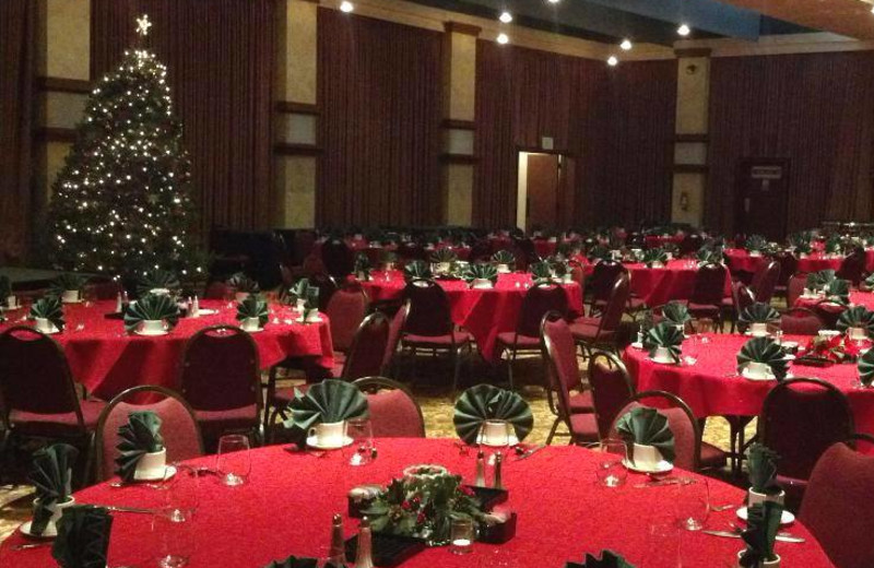 Banquet room at Flamingo Conference Resort and Spa.