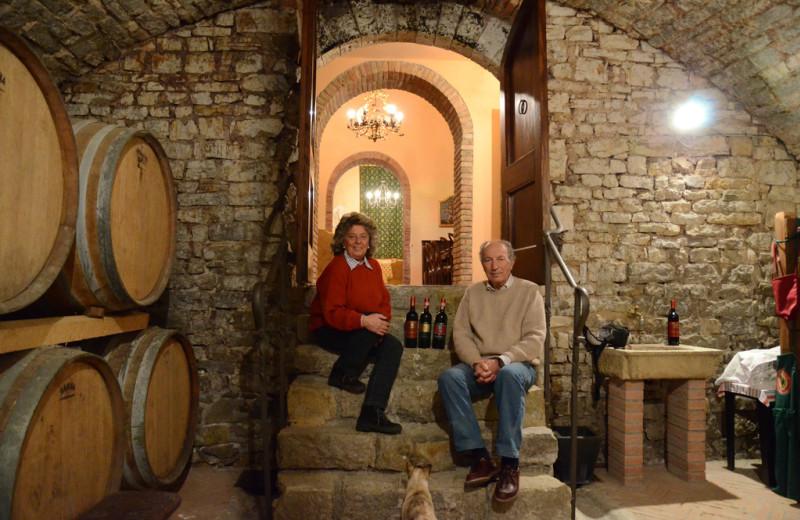 Winery at Canonica a Cerreto.