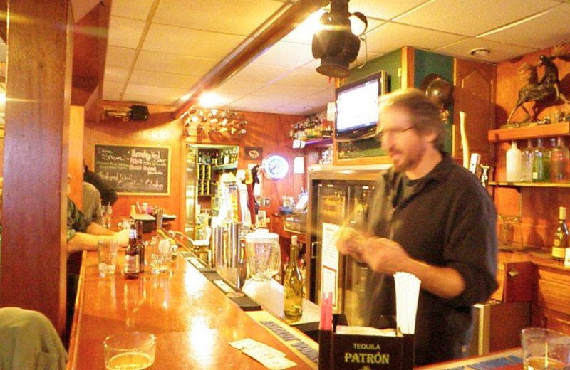 Bar at Trail Lake Lodge.