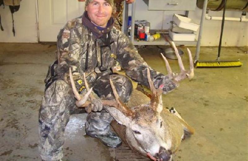 Deer hunting at Dakota Hunting Lodge.