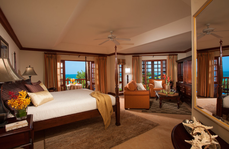 Guest room at Beaches Negril.
