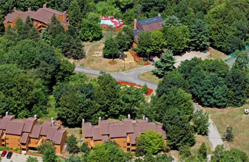 Aerial cabin view at Summit Resort